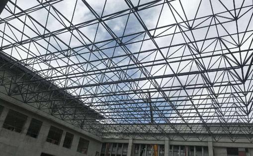 北京航天員體訓館擴建屋頂網架