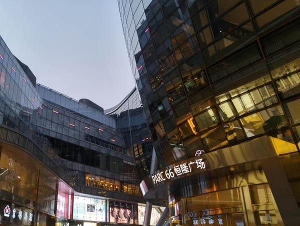 资阳市商场玻璃幕墙工程