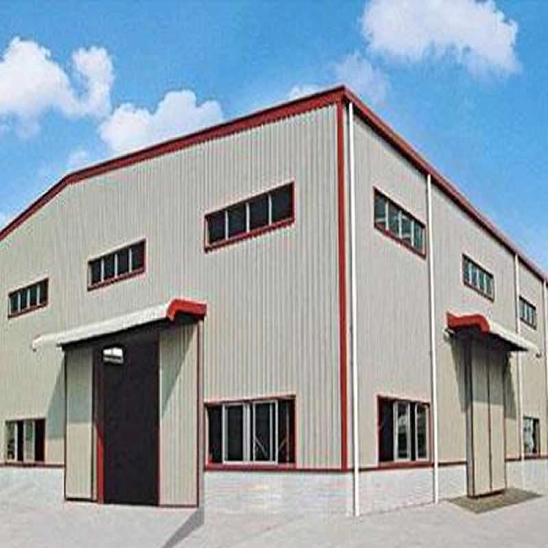 北京濟南保稅區倉儲鋼結構廠房