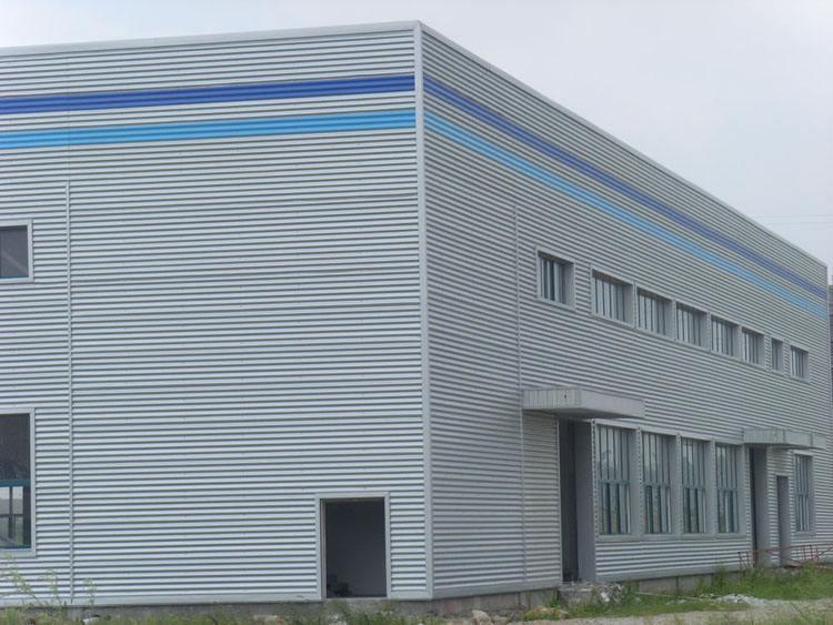 北京浙江省寧波物流倉儲鋼結構廠房