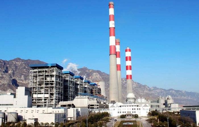 北京華能沁北電廠鋼結構網架工程