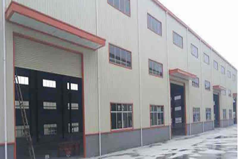 廣西山東青島快遞鋼結構廠房工程