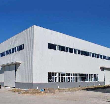 廣西內蒙古某牛奶生產企業鋼結構廠房工程