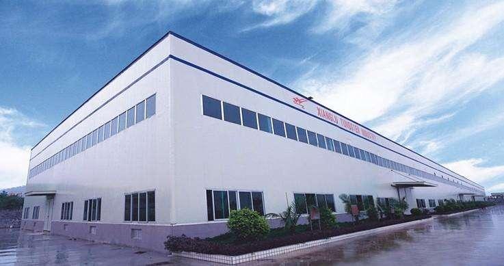 廣西東部某加工企業生產車間鋼結構廠房工程