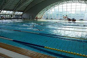 廣東游泳館網架