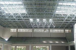 海南儋州一中體育館網架