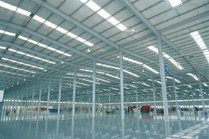 海南海馬汽車廠鋼結構