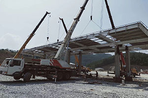 湖北沙道溝服務區加油站