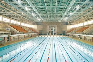 遼寧石油化工大學游泳館