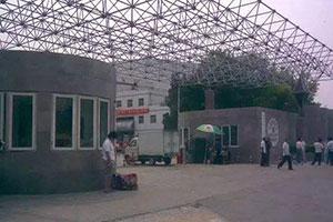 上海學院門廳網架