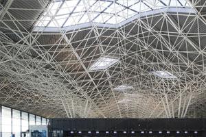 昆明長水機場部分網架